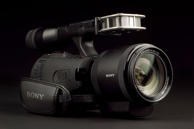 SONY NEX VG 30 Camcorder front angle