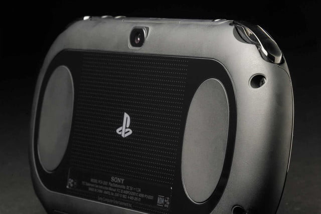 Sony PlayStation Vita Slim review rear macro