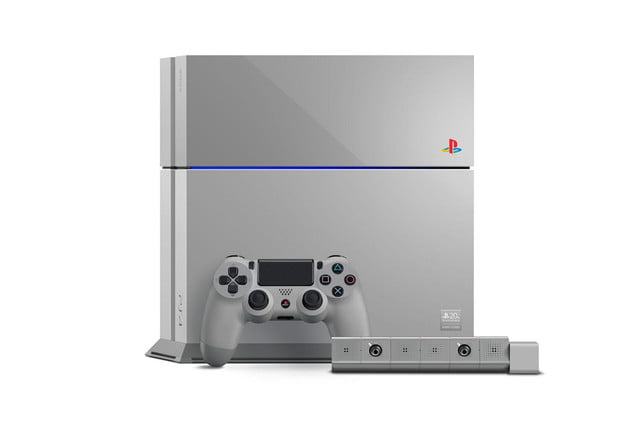 new ps4 turns back clock celebrate 20 years playstation sony ps1 edition system