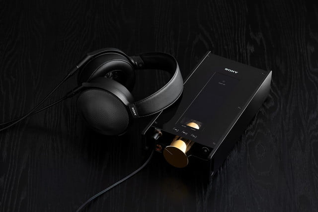 Sony's gold-plated music player comes to the U.S., along with new in-ears