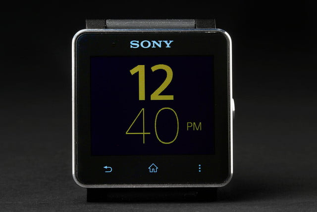 Sony SmartWatch 2 front green