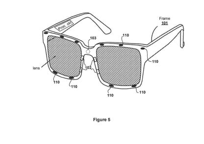 New Sony Patent Describes Glasses with Eye Tracking for VR