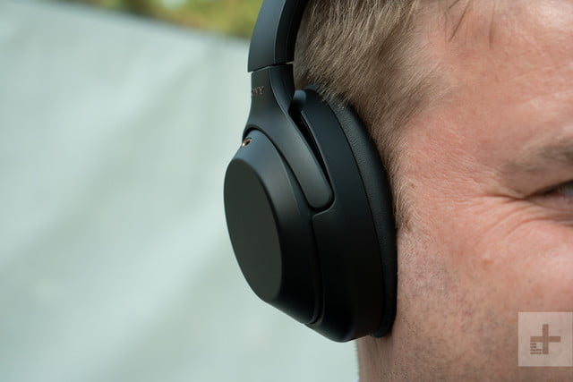 sony wh-1000x headphones right cup front