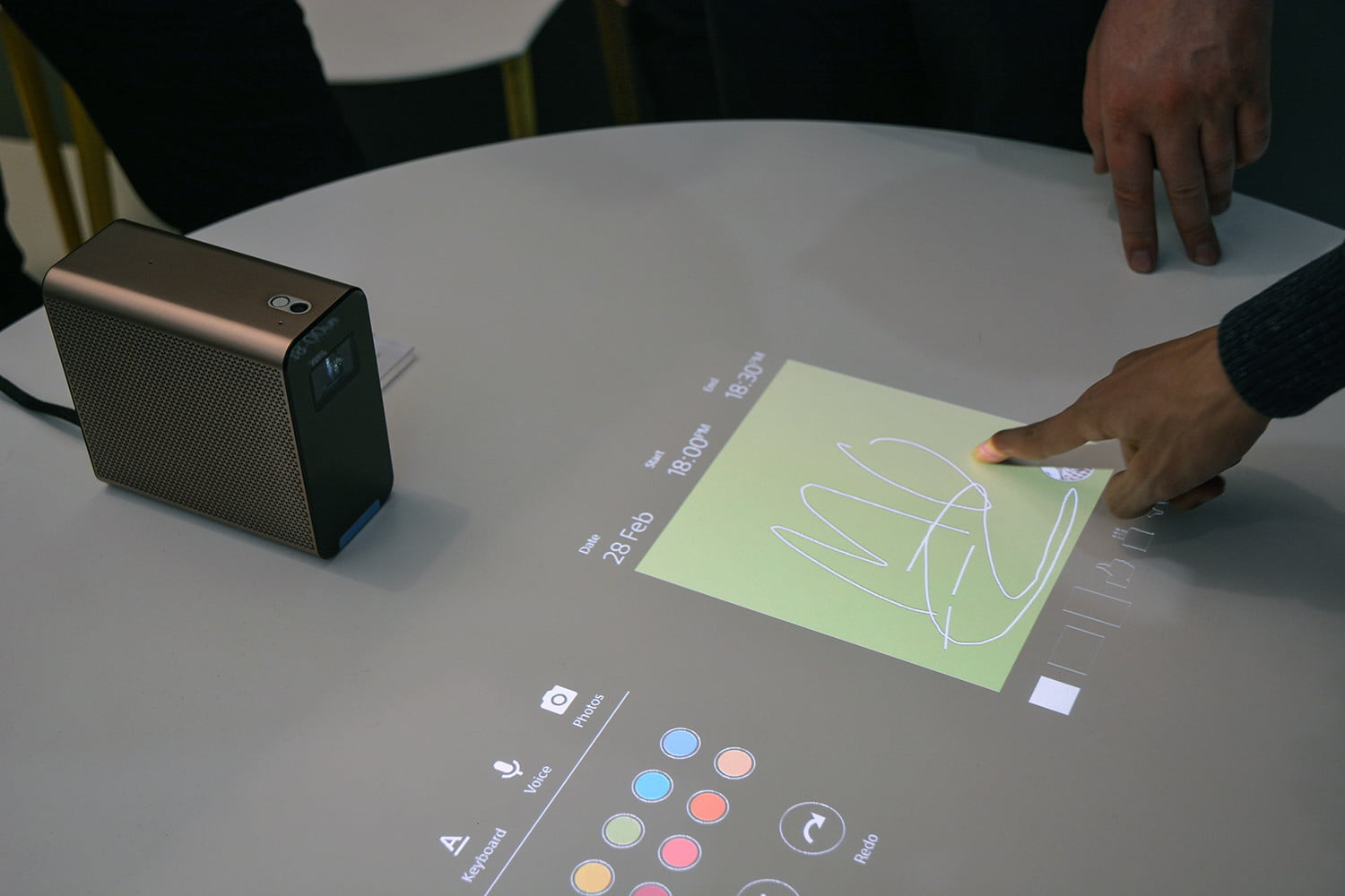 Hands On With Sony S Interactive Xperia Projector Concept