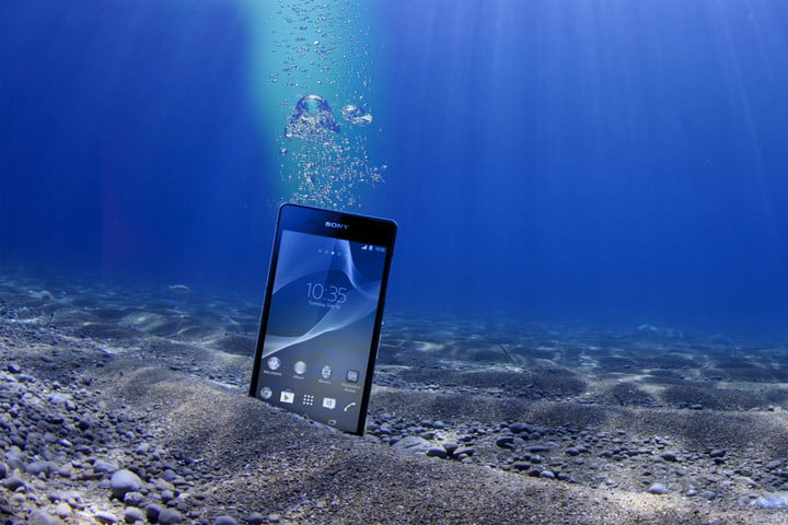 Truly Waterproof: Xperia Z2 survives under the sea for six weeks
