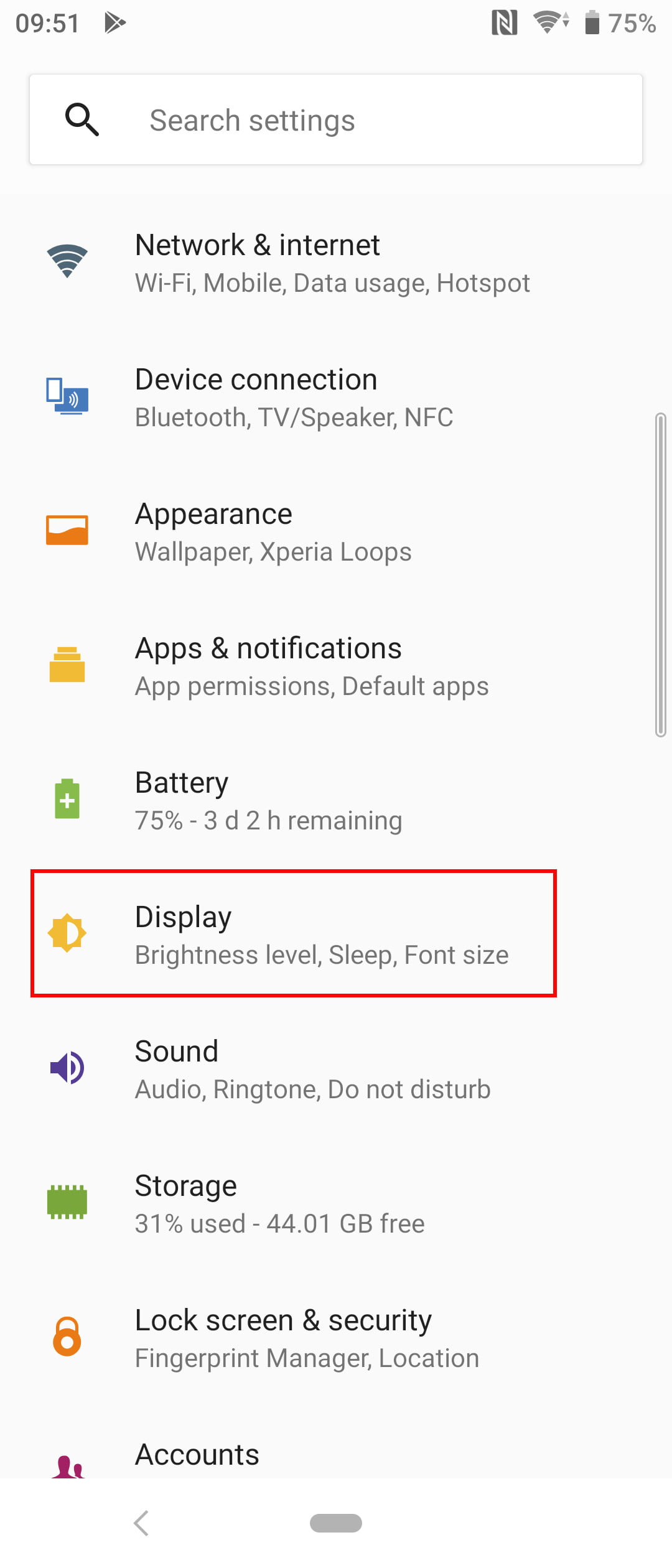 Sony Xperia 10 or 10 Plus: Key settings you need to change