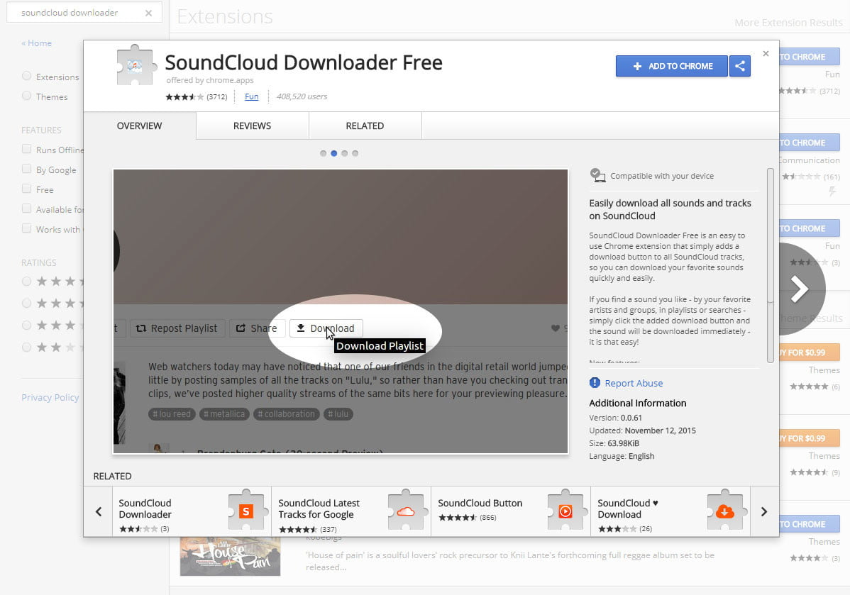 how to download songs from soundcloud downloader free