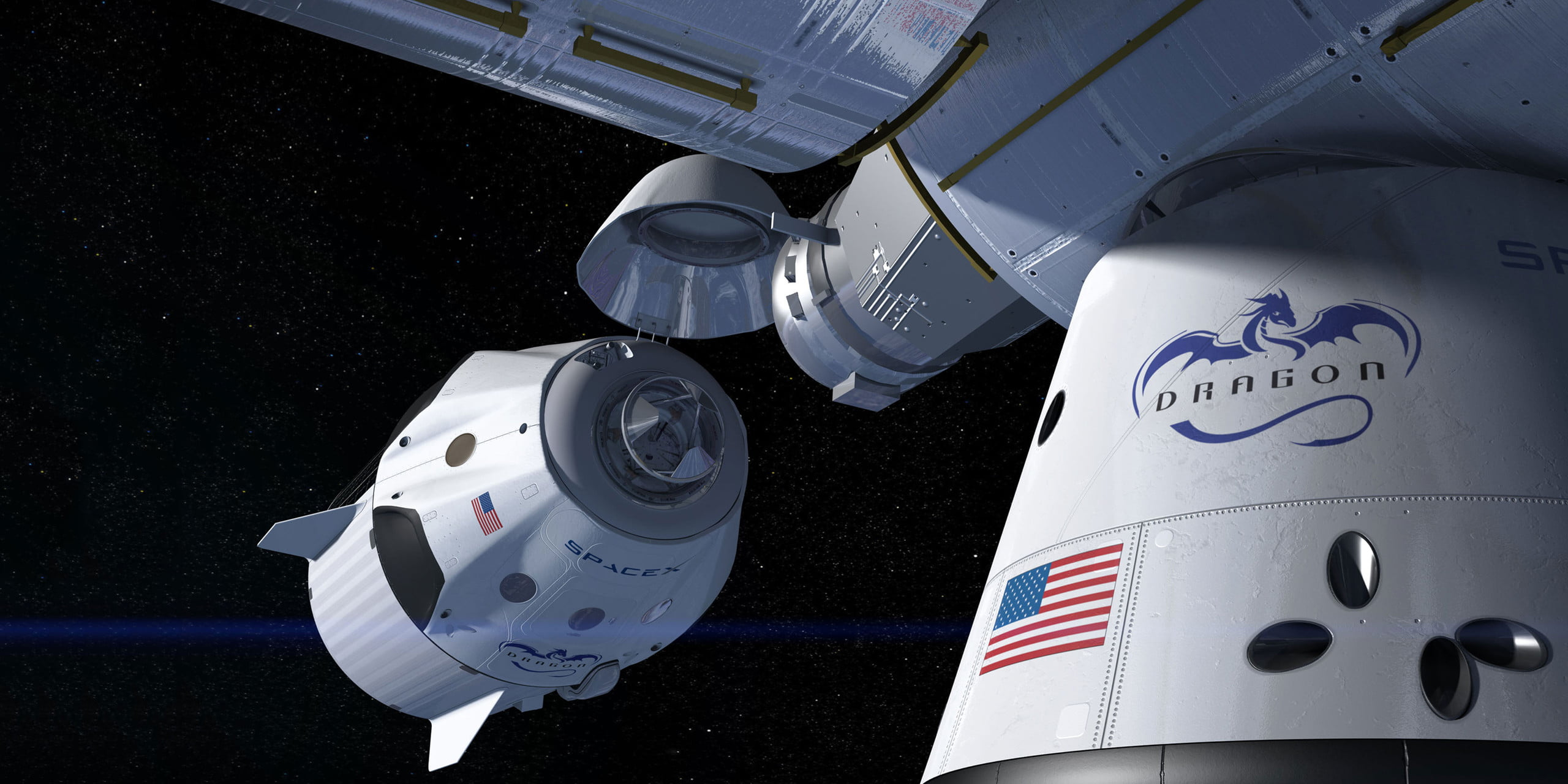 earth dragon from spacex - photo #31