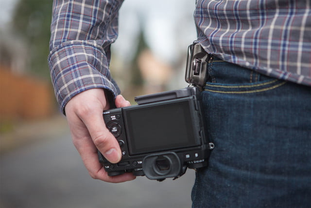 SpiderLight camera holster