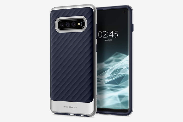 7baf7337a7a Spigen Neo Hybrid Case. Spigen Neo Hybrid Case for Samsung Galaxy S10. This  stylish dual layer ...