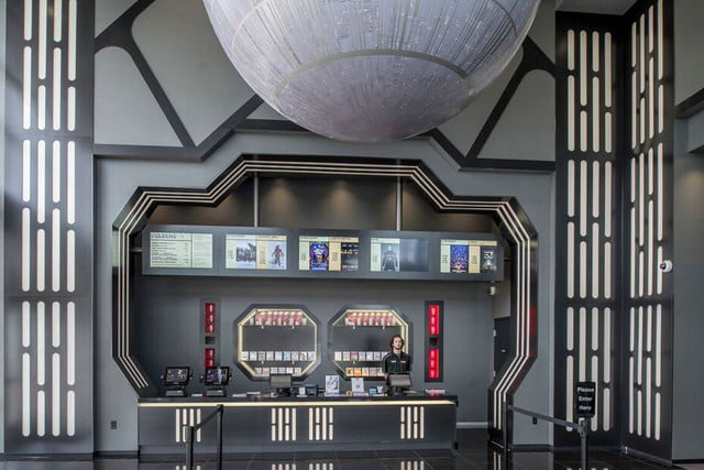 Star Wars Alamo Drafthouse theater
