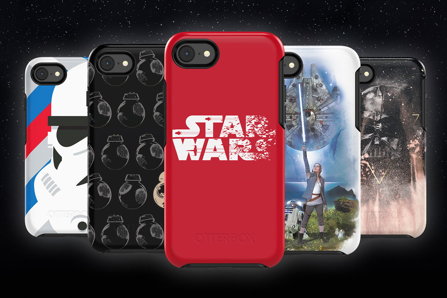 best service 854c8 2e0f8 Protect Your Phone With The Force Using Otterbox Star Wars Cases ...