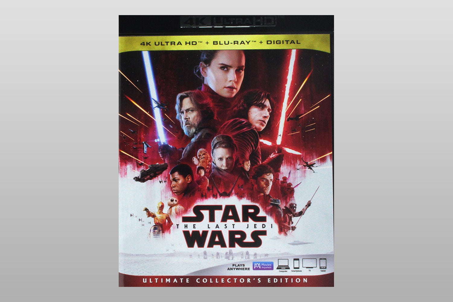 best 4k ultra hd movies to show off your home theater star wars the last jedi blu ray