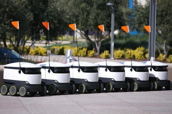 starship technologies 25m delivery robots