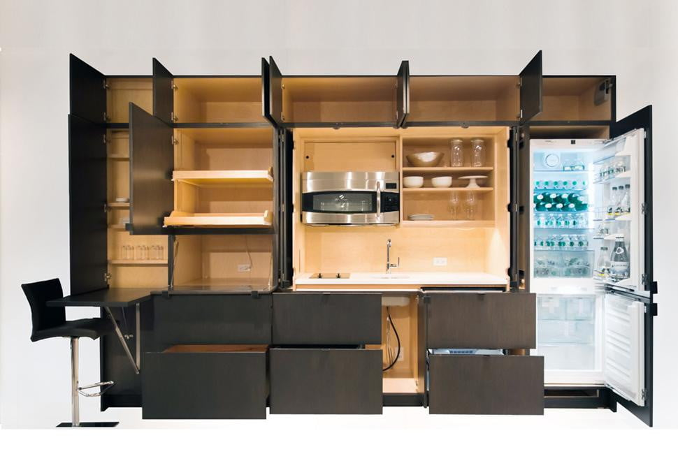 saving kitchen furniture space saving furniture for small rooms digital trends
