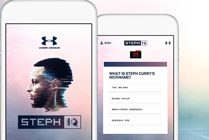 c1ebaeb122a7 Steph Curry s Trivia Game Is Unlocked By Three-Pointers