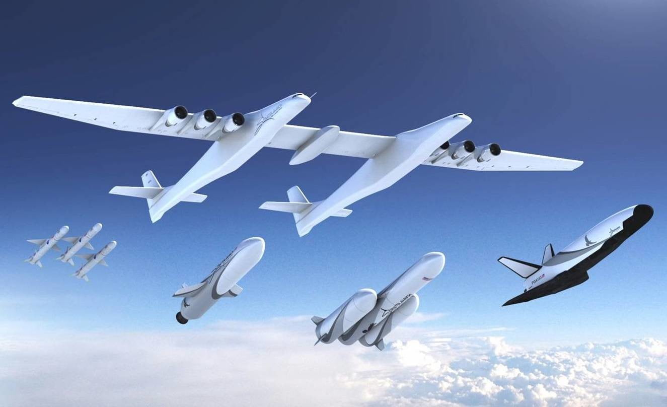 the world s biggest plane now has some rockets to launch digital