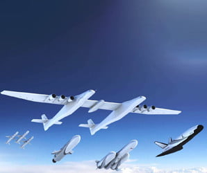 The world's biggest plane now has some rockets to launch
