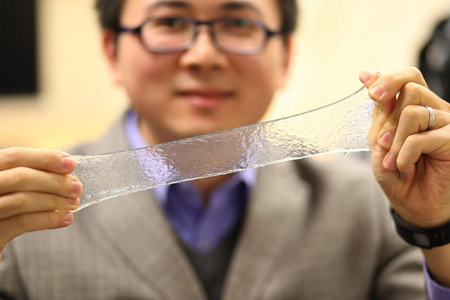 bandage of the future hydrogel delivers medicine automatically stretchable electronics 3