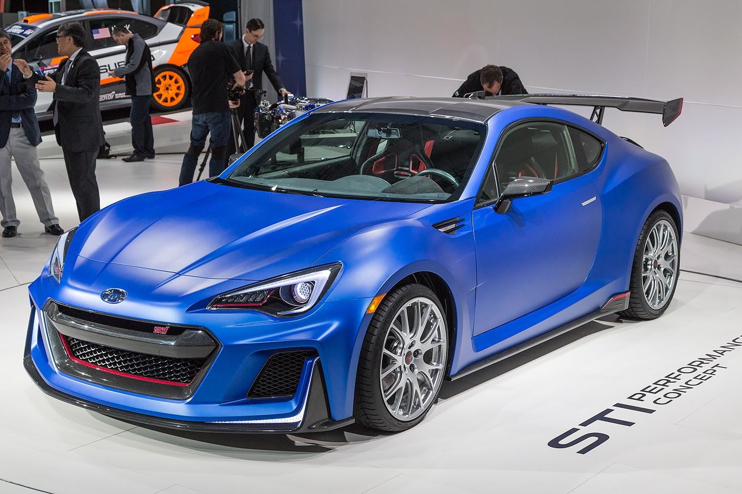 Subarus STI Performance Concept just might be the BRZ STI youve