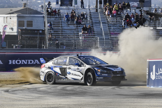 Subaru's GRC car