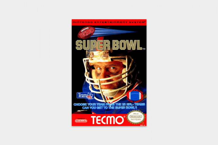 best nes games ever super bowl cover