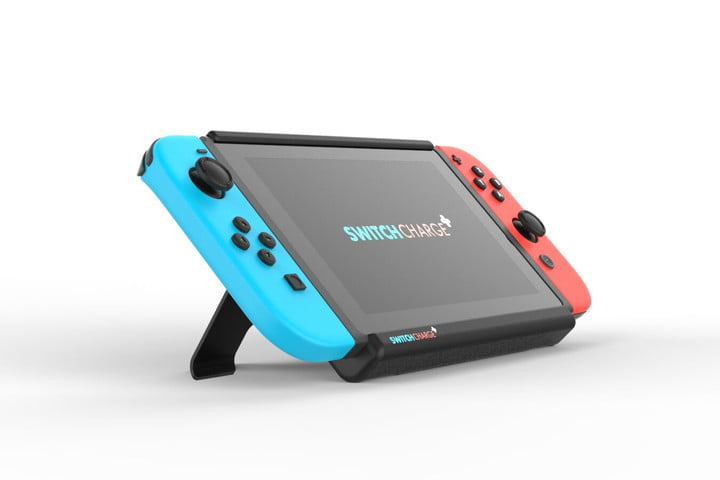 SwitchCharge gives Nintendo Switch hours of extra battery life