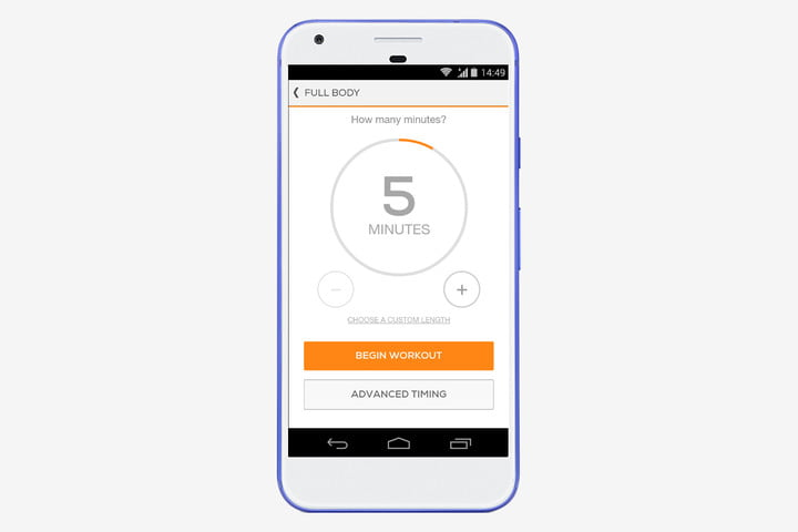 Sworkit Android app