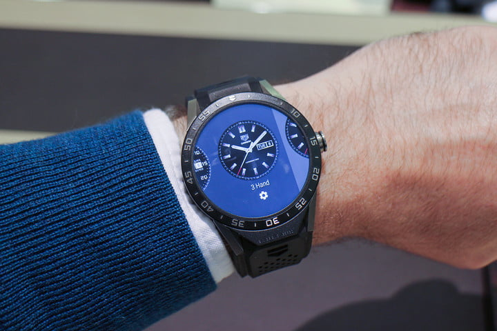 05c15b066d1f Tag Heuer Connected 2  Luxury Android 2.0 Smartwatch Due March 14 ...