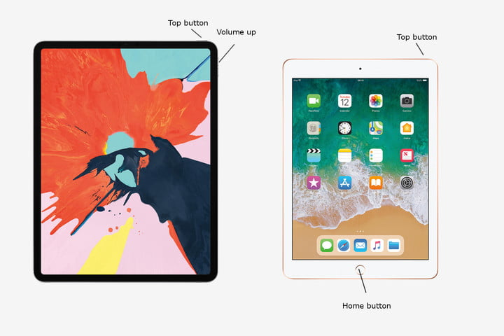 How to take a screenshot on an iPad