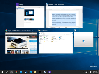 A Guide To Windows 10's Task View And AeroSnap Features | Digital Trends