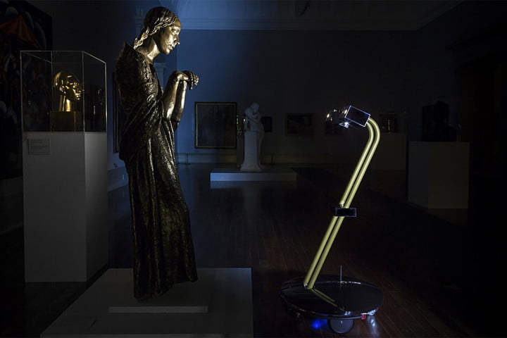 Night at the Museum: You can tour this U.K. art gallery in the dark, using a robot avatar