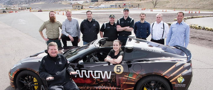 semi autonomous system lets paralyzed racer drive again team banner 2015
