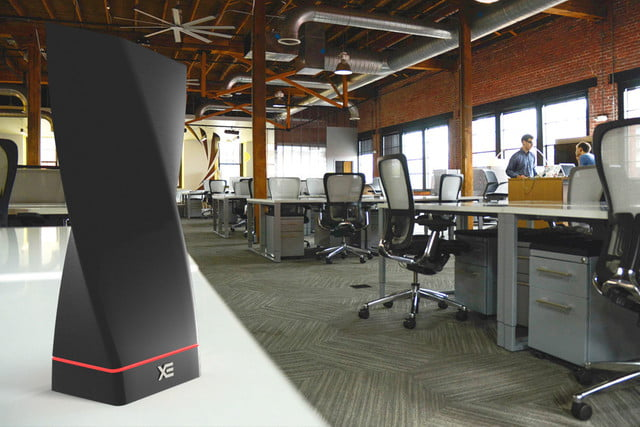 technovator xe wireless phone charger works across a room int office