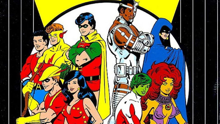 Live-action Teen Titans series will feature grown-up Robin and other DC Comics heroes