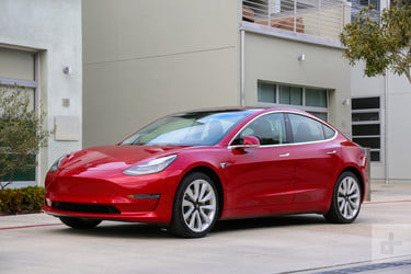 Entry-Level Tesla Model 3 Available Only as a Special Order Model