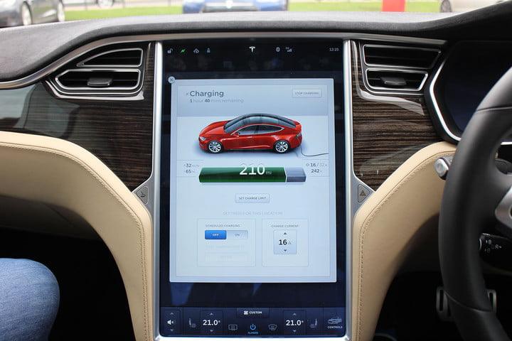abnormally normal driving the tesla model s p90d 1363