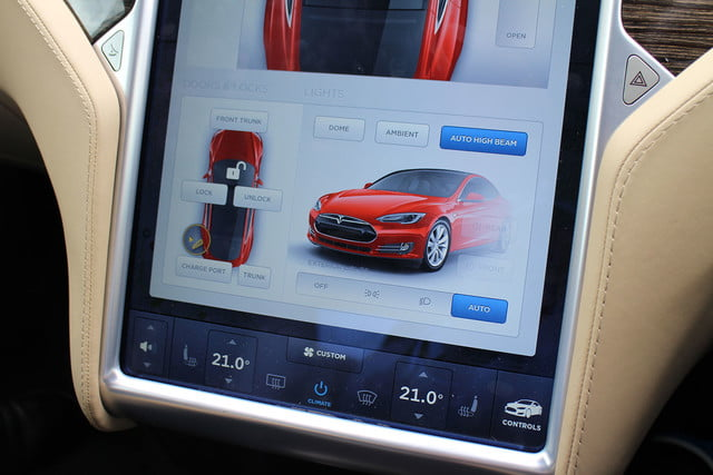 abnormally normal driving the tesla model s p90d 1369