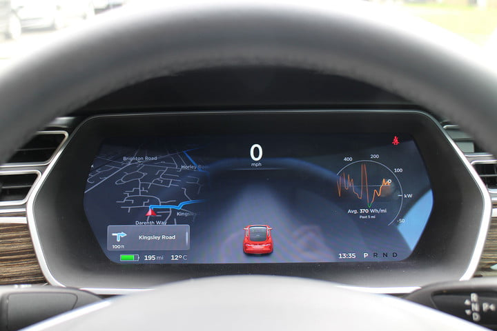 abnormally normal driving the tesla model s p90d 1373