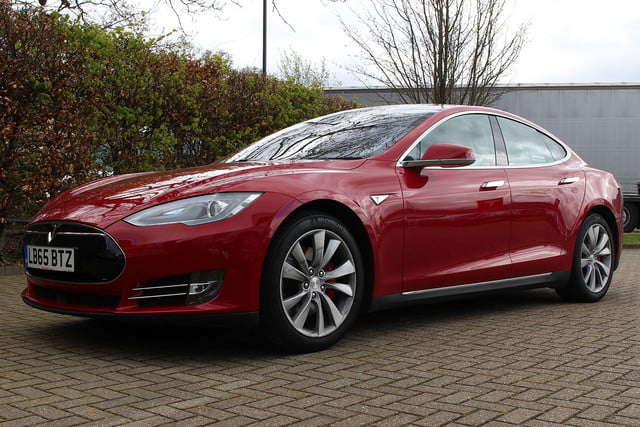 abnormally normal driving the tesla model s p90d 1394