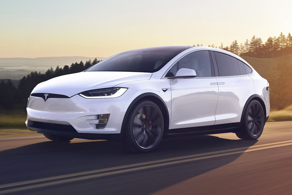 Best Cars For The Snow Tesla Model X Header