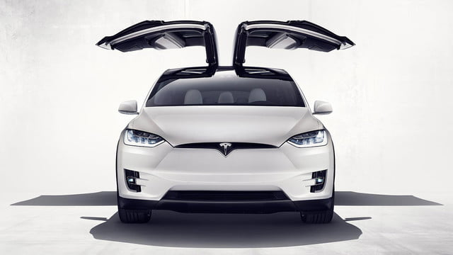 tesla top model s competitors x section exterior primary wings open front view