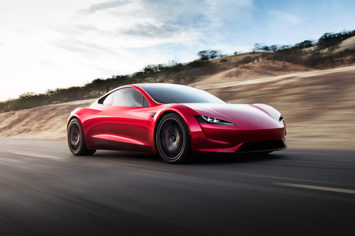how your opinion influences auto designers tesla roadster press render