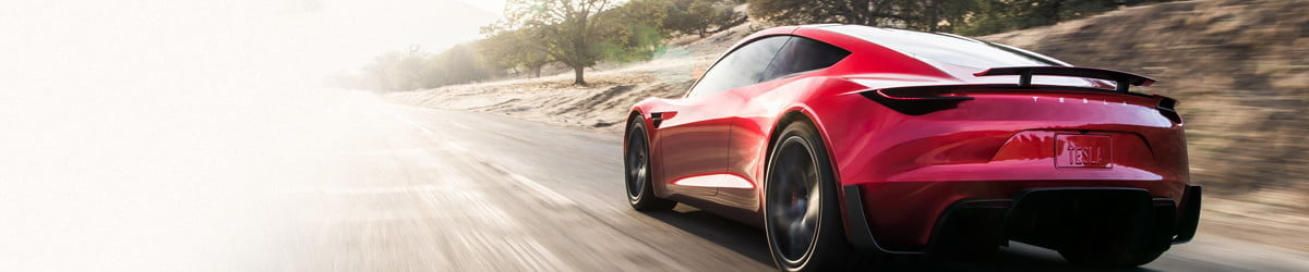 Tesla's Roadster isn't the fastest car in the world, but it's damn close