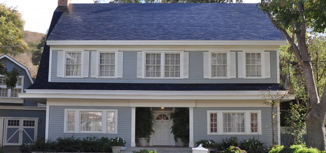 Textured Glass Tile roof