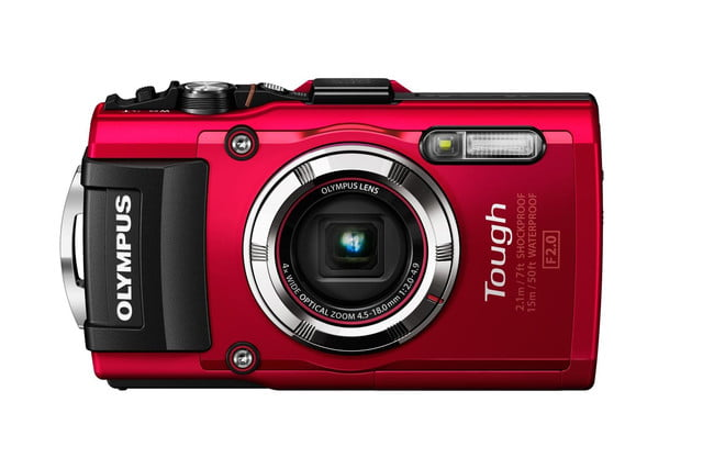 olympus announces stylus tough tg3 tg 3 red front