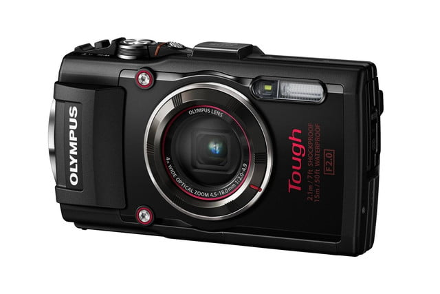 olympus tg 4 is first rugged compact to shoot uncompressed raw photos blk right side
