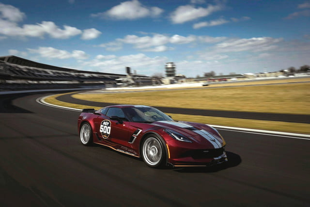 Chevrolet Corvette Grand Sport To Pace 2019 Indianapolis 500