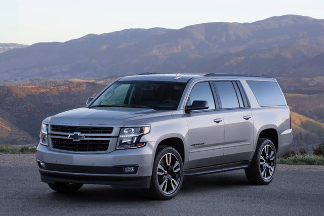 2019 chevrolet suburban rst performance package headed to dealers the 2019 suburban rst performance package fandeluxe Gallery