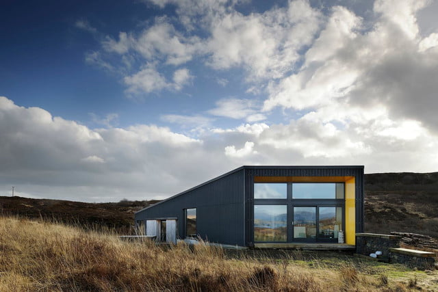 retreat from society and relax in these idyllic cabins around the world black shed 10